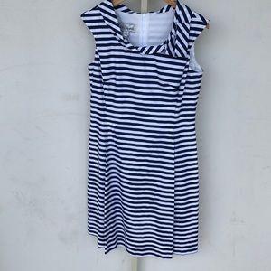 Sara Campbell Stripe Dress